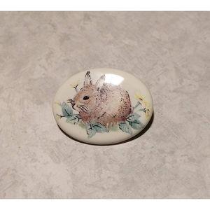 Vintage Bunny Pin